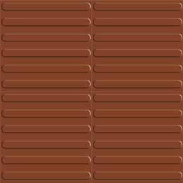 Stripes Terracotta