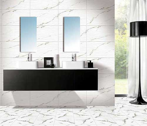 Wall tiles highlighter concepts showroom shalimar for Bathroom designs kajaria
