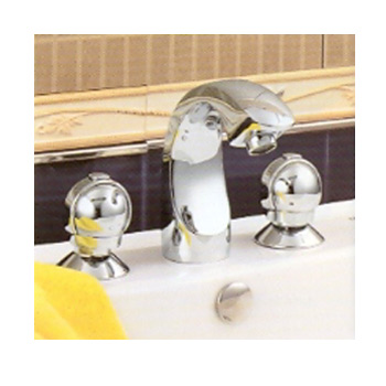 Three Tap Hole Basin Mixer