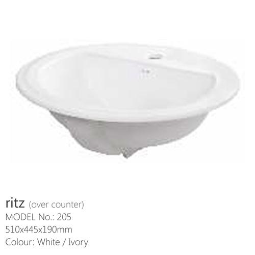 WASH BASIN with pedestal ritz